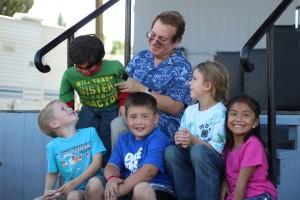 Joe, John Raven & Kids