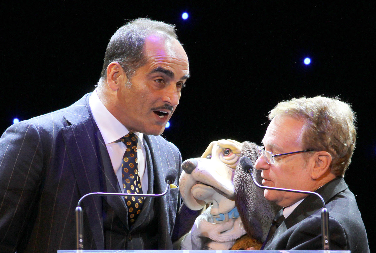 Joe and actor Navid Negahban at the Hollywood Beauty Awards